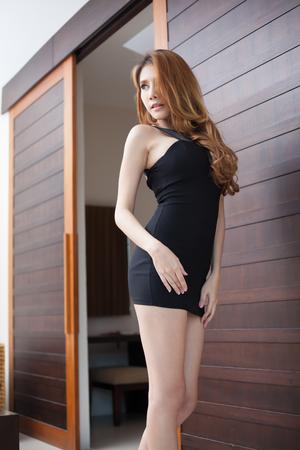 sexy asian woman: Young beautiful asian woman model sexy