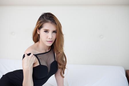 bella asiatica donna modello sexy