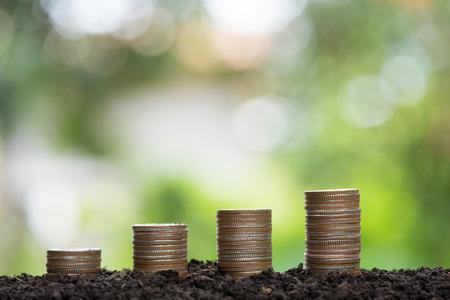 Money growing concept