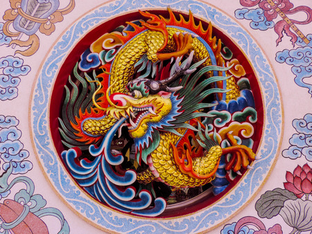 the red dragon: Dragon Claws  Stock Photo