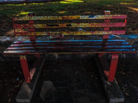 bench alone: Bench Stock Photo