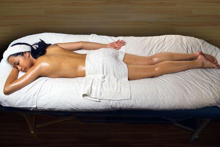 Asian Oil Massage at Spa photo