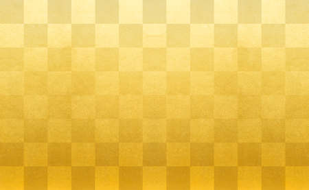 Gold Check Pattern Ichimatsu Pattern Golden Ichimatsu Pattern Background