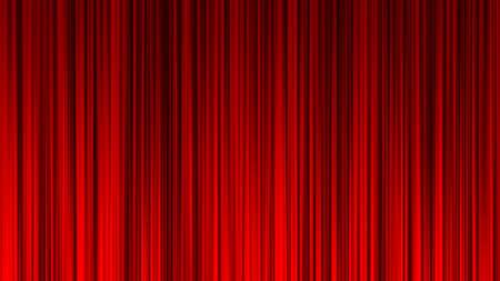 Red Curtain Stage Curtain Event Ranking Draped Book Red curtain material. Drape curtain. Red cloth. Standard-Bild