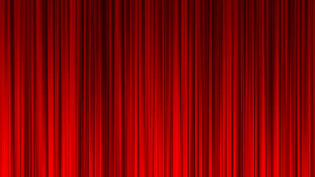 Red Curtain Stage Curtain Event Ranking Draped Book Red curtain material. Drape curtain. Red cloth. Stock Photo