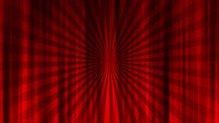 Concentrated Radiation Red Curtain Drape Curtains Converted line. Red curtain material. Drape curtain.