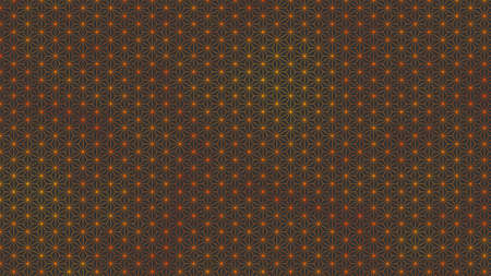 Background material that feels Japanese Hemp leaves Traditional pattern Black gray