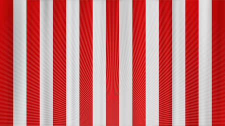 Concentrated Line Red and White Curtain Limelight Festive Background Material 写真素材