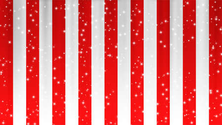Red and White Curtain Limelight Star Celebration Background Material 版權商用圖片