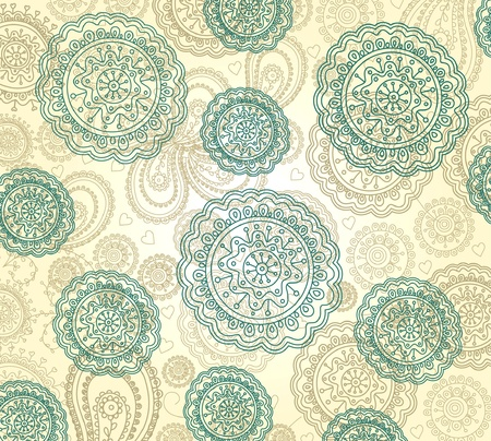 handdrawn: Vector floral background