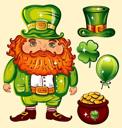 Day of St. Patrick  Stock Vector - 9655276