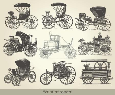 carriage: impostare delle vecchie automobili