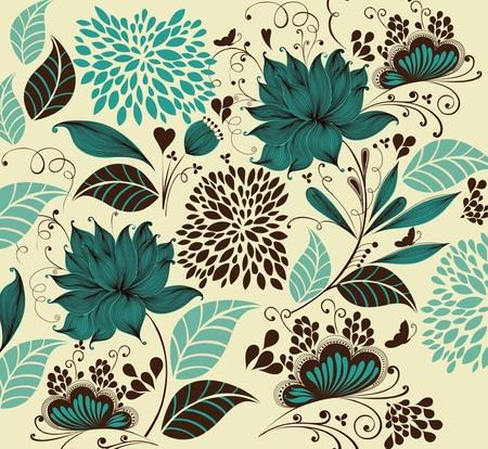 flower background. Fragment  Vector