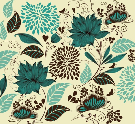 wrapping animal: flower background. Fragment