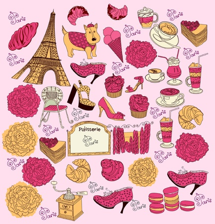 french roll: symbols of Paris