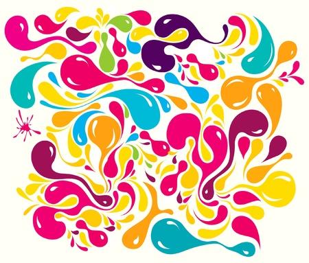 Bright multi-coloured pattern Stock Vector - 9868881