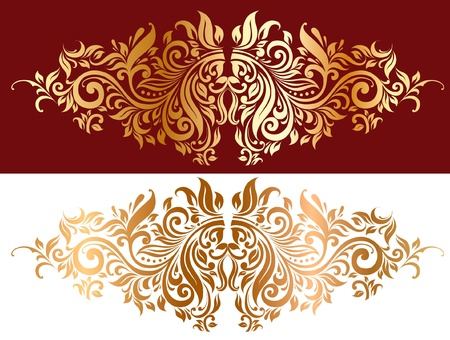 lassical ornament Vector