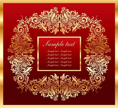 twirled: Cartolina di Natale Vettoriali