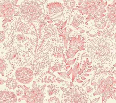 french label: papel cl�sico con un patr�n de flores