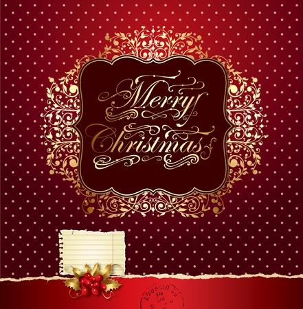 Colorful vector Christmas card Stock Vector - 11161618