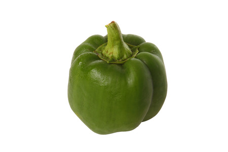 bell pepper: green bell pepper