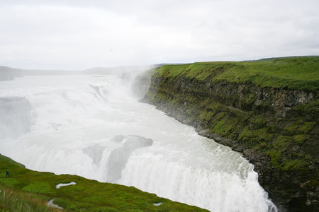 robustness: Gulfoss waterfall in Iceland Stock Photo