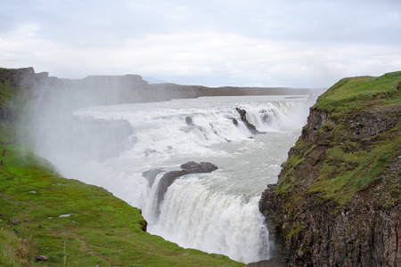 robustness: Gulfoss Waterfall in Iceland