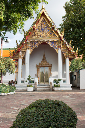 wat pho: Small temple in Wat Pho, Bangkok, Thailand Stock Photo