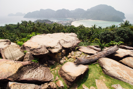 phi phi: Viewpoint on Koh Phi Phi, Thailand