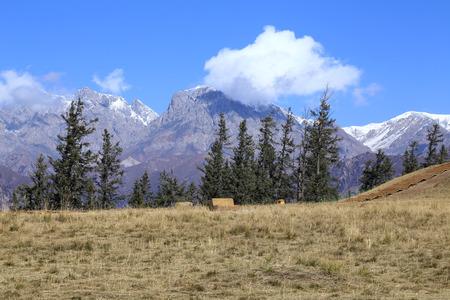 thatcher: Thatcher mountain region Stock Photo