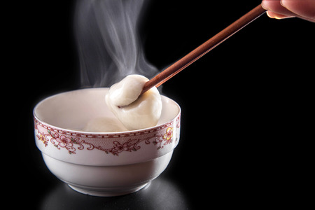 Hot dumplings