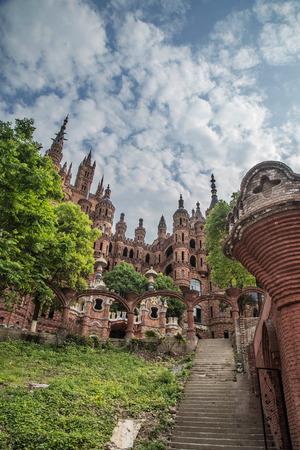 fairytale castle: Fairytale castle at Chongqing