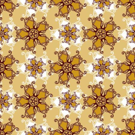 ジュエリー花とゴールド レース シームレス パターン。無限の壁紙、デザイン、ランジェリー、ジュエリーの飾り。招待状、壁紙、ファブリック、