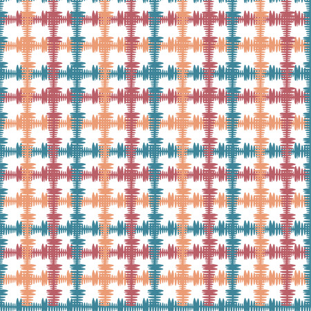 home fashion: Hand drawn seamless pattern with crossing painted lines. Vector texture for print, paper wallpaper, home decor, fashion fabric, textile, invitation background