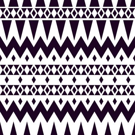 tribales: textura tribal vector. patrón de cuadros geométricos