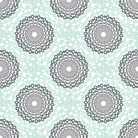 casual fashion: Textile vector seamless pattern. Casual fashion background texture. Mint color. Abstract fabric design.