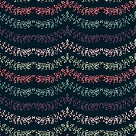 Floral seamless background. Pattern for textile print design. Floral wallpaper pattern