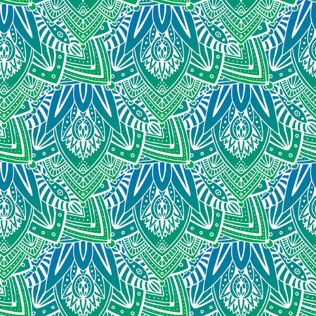 Bright ornamental seamless pattern. Modern pattern for textile, packaging, wallpaper design. Abstract ornament background. Fabric fashion print