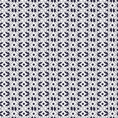 Ethnic pattern with geometric ornament. Background for fabric. Eastern pattern in decorative style. Textile design for carpets and linen. Black and white print