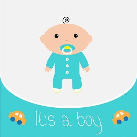 it s a boy: Baby shower card  It s a boy