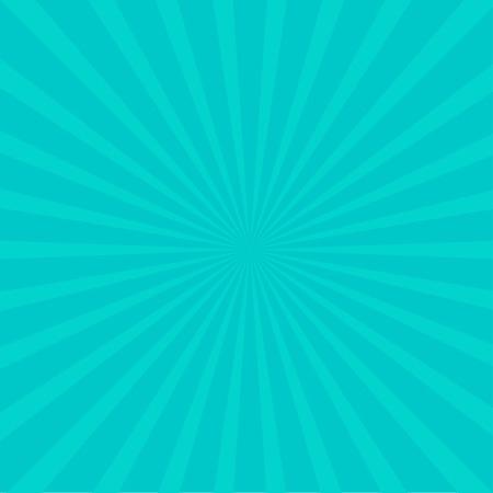 ray of light: Sunburst with ray of light. Template.  Blue background. Vector illustration