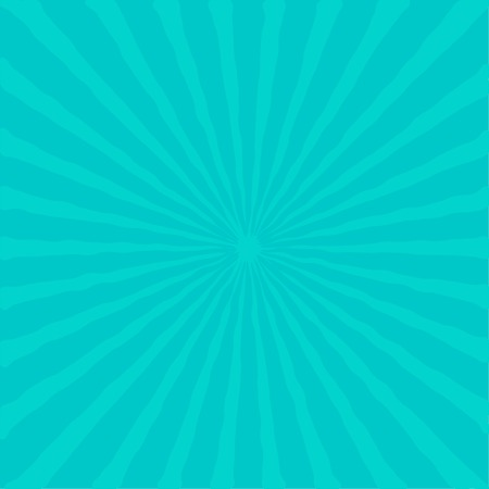 ray of light: Sunburst with ray of light. Blue background. Vector illustration