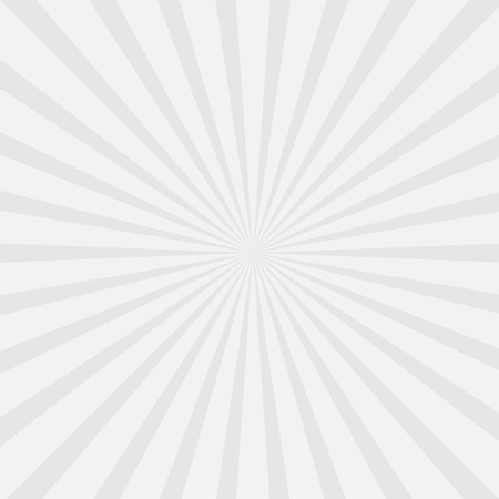 Gray sunburst with ray of light. Template background. Vector illustration