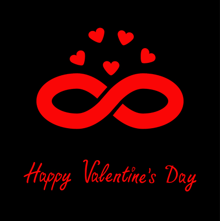 Limitless Red Sign With Heart Symbol. Infinity Icon. Happy Valentines..  Royalty Free Cliparts, Vectors, And Stock Illustration. Image 52416198.