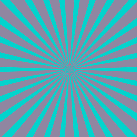 ray of light: Violet and blue sunburst with ray of light. Template background. Flat design. Vector illustration