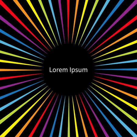 Rainbow color speed template