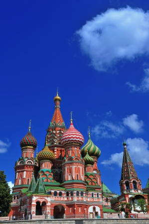 turism: Cathedral of Saint Basil the Blessed in Moscow, Russia