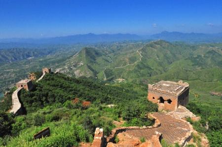 Great Wall of China in Sumatai Stock Photo - 25435889