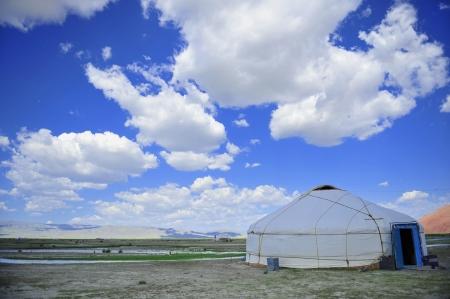Mongol: mongol yurt