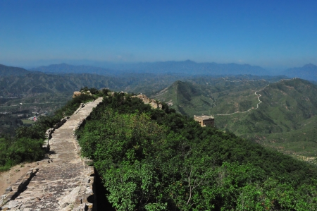 Great Wall of China in Sumatai Stock Photo - 25422381
